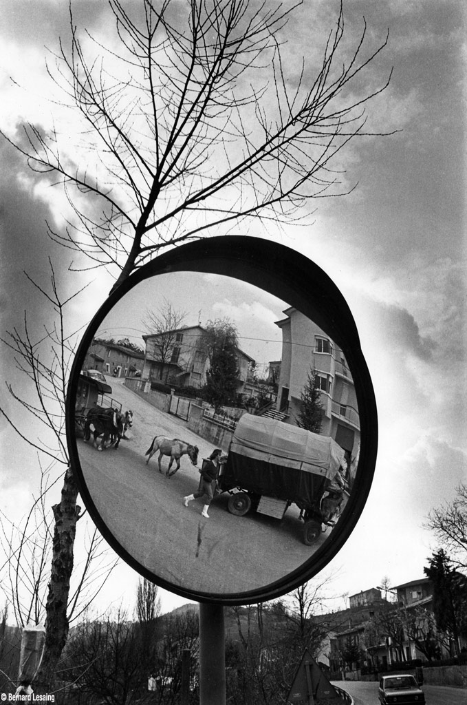 Piémont, Italie, Cirque Bidon 1979-80 © Bernard Lesaing
