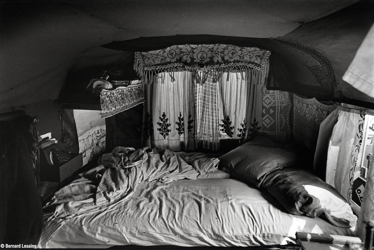 Toscane, Italie, Cirque Bidon 1979-80 © Bernard Lesaing