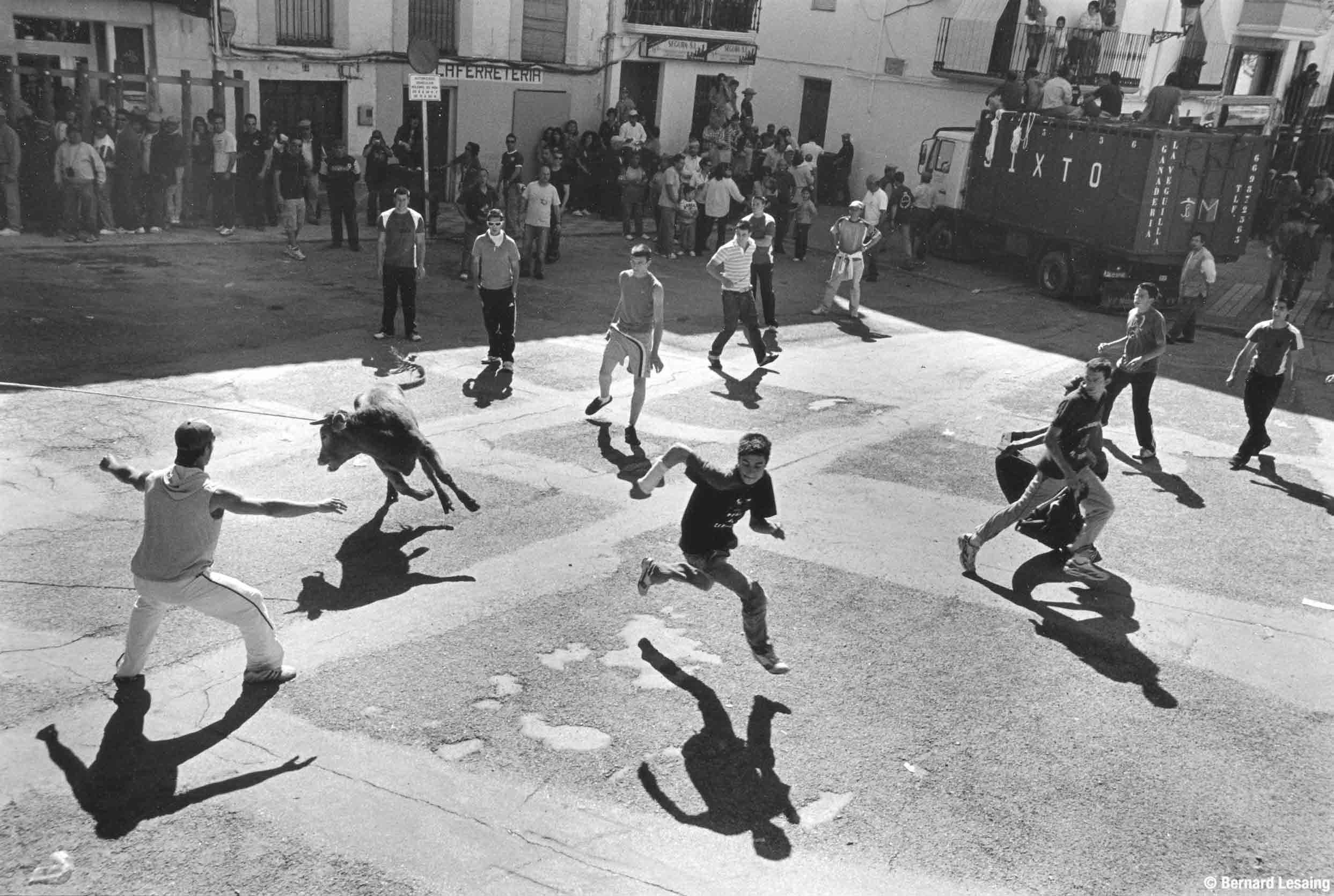 Beas de Segura, Andalousie, 2008 © Bernard Lesaing