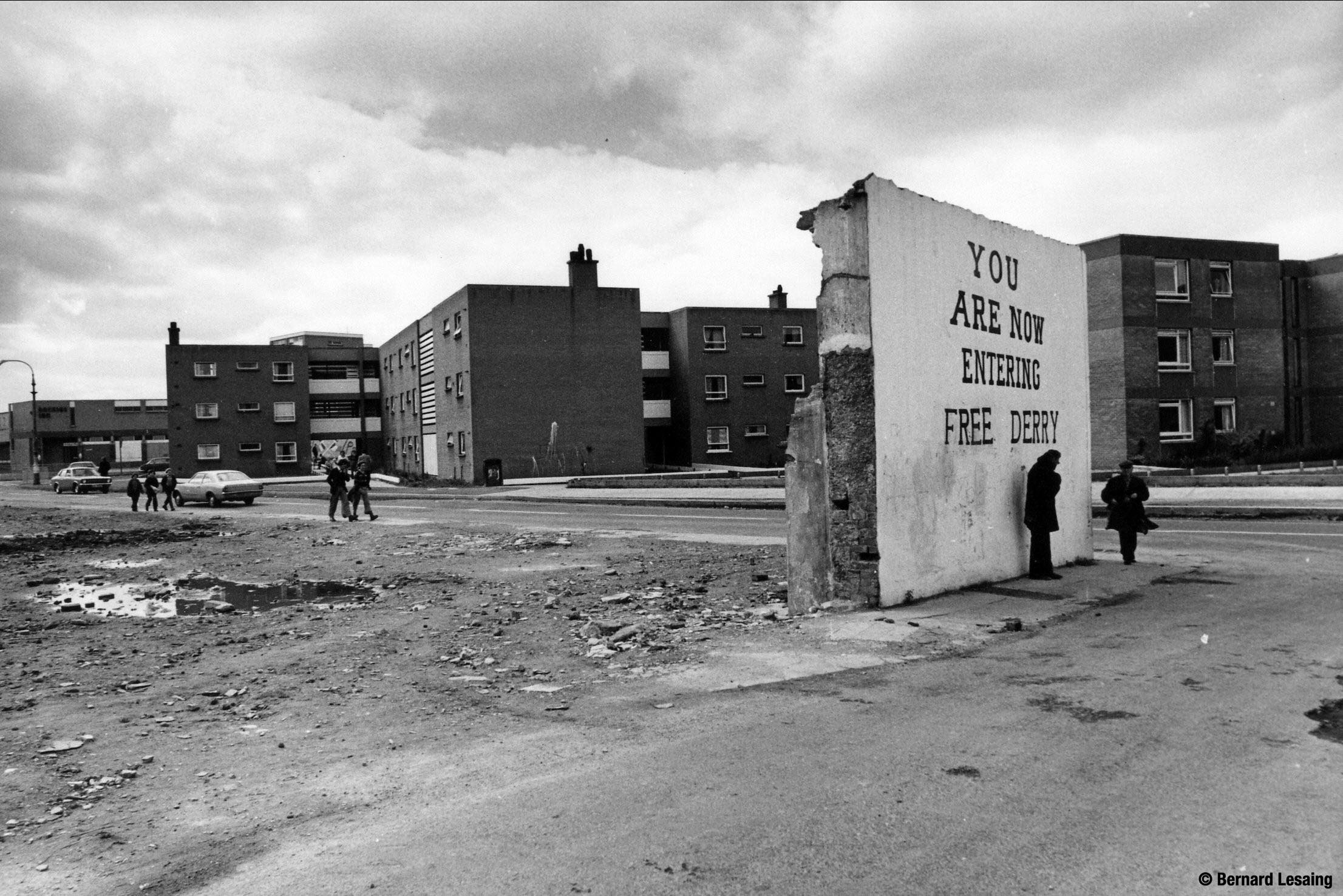 FreeDerry, 1977 ©BLesaing