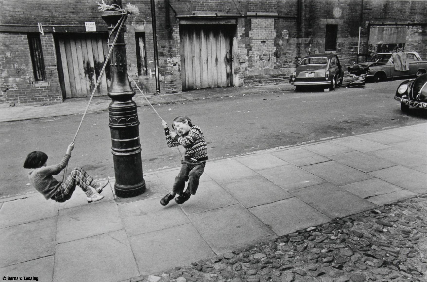 Kids, Belfast, 1976, BLesaing