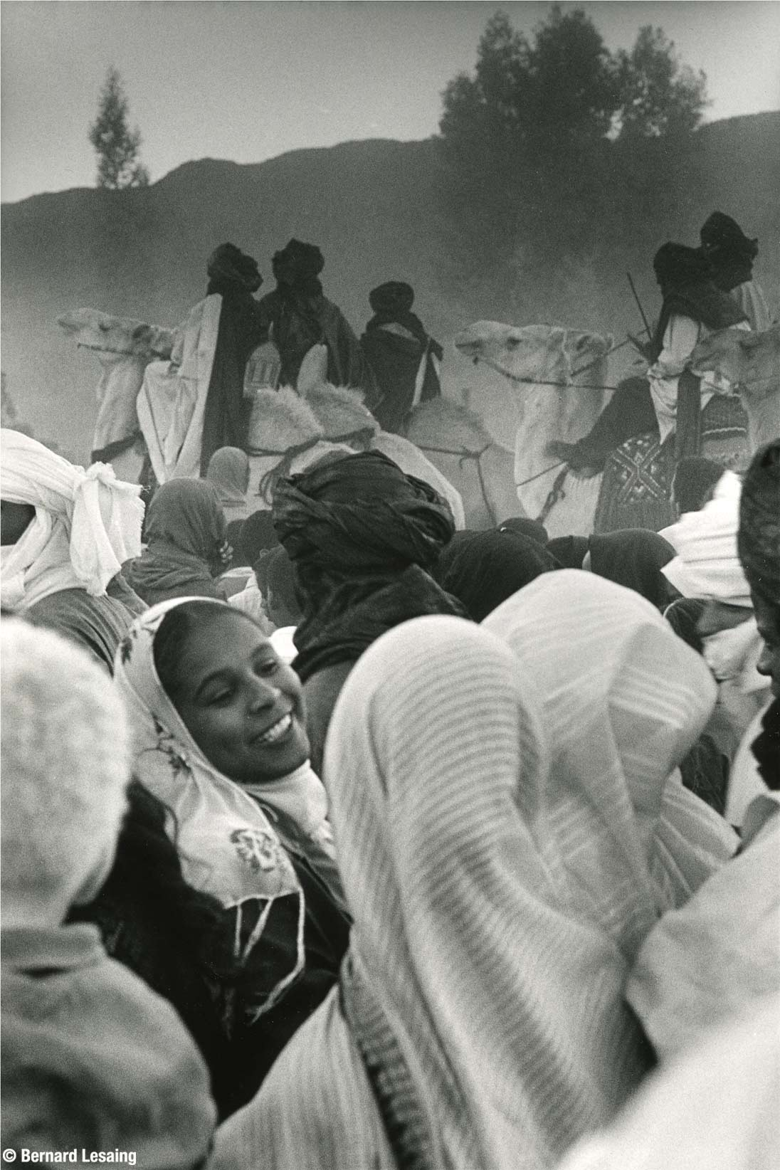 Fête de la Sebeiba, Djanet, Algérie, 2004 © Bernard Lesaing