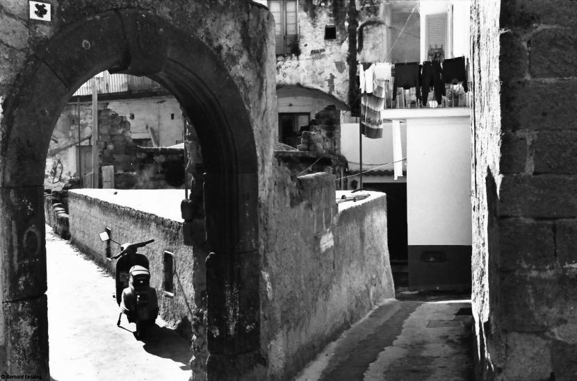 Panza, Ischia, 1990-92 © Bernard Lesaing