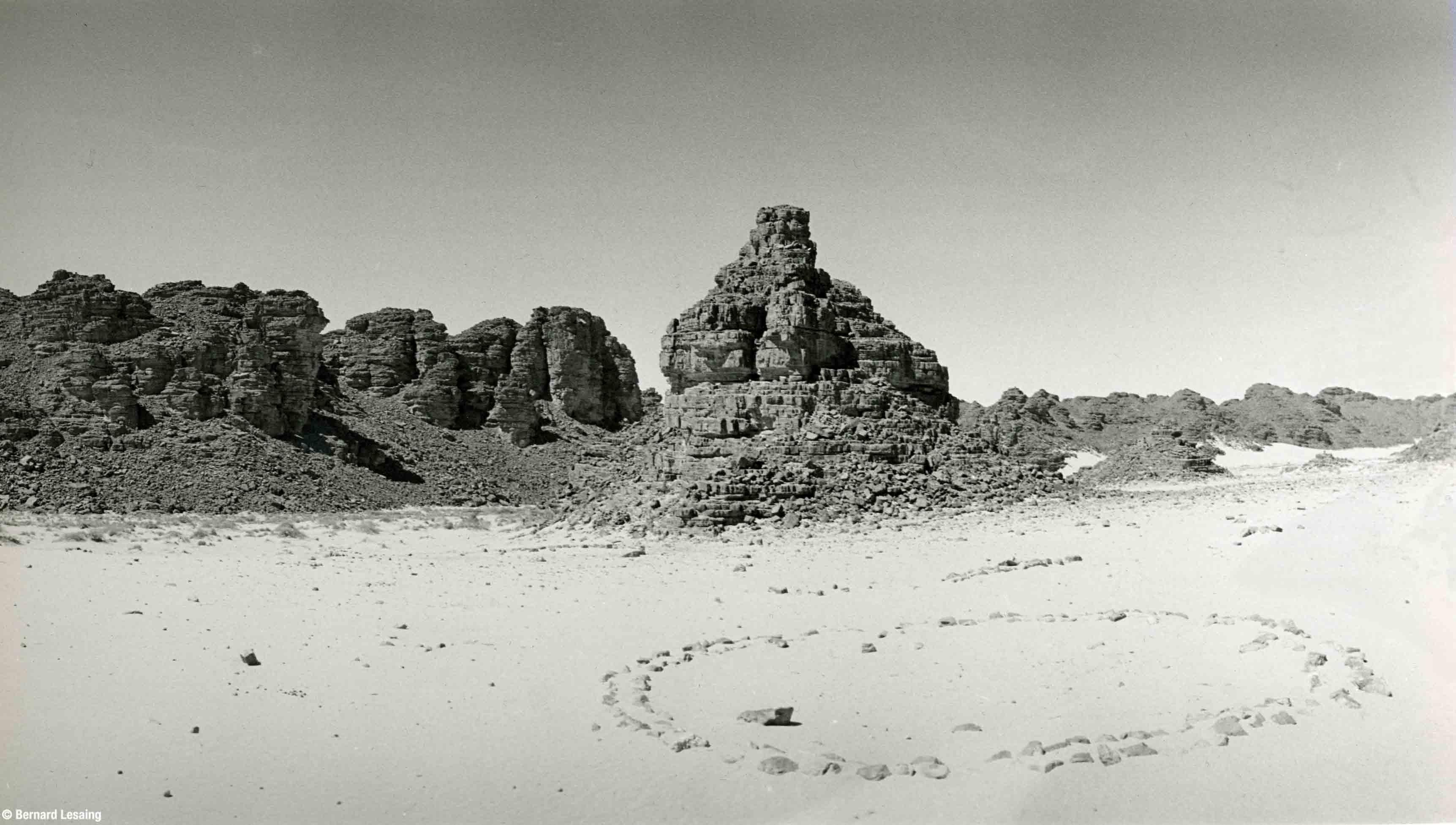 Oasis de Djanet, Algérie, 2004 © Bernard Lesaing