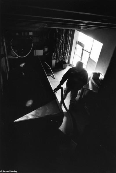 Collecte du lait, Duerne, 2014, Bernard Lesaing