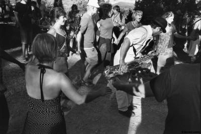 Festival Zinzan, Orgon, 2014 © Bernard Lesaing