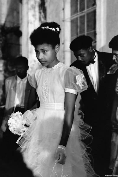 Mariage, Piton Saint-Leu, 1990 © Bernard Lesaing