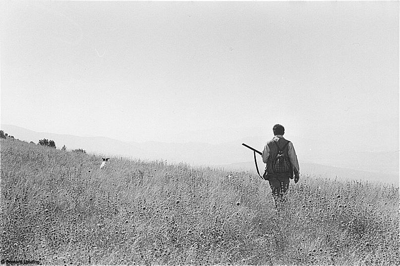 "Le club des chasseurs ""le Torri"", San Sisto, Perugia, 1998 © Bernard Lesaing"