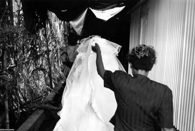 Mariage dans les hauts, 90's © Bernard Lesaing