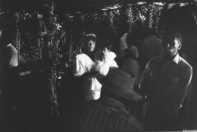 Mariage dans les hauts, Montvert, Trois-Bassins, 1992 © Bernard Lesaing