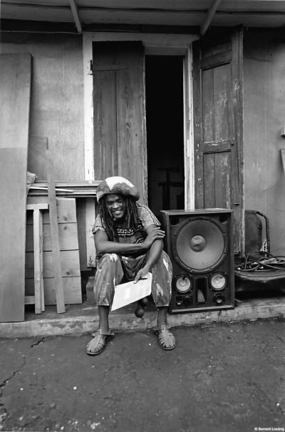 Chez Joël, pendant les répétitions et l'enregistrement 1992 © Bernard Lesaing
