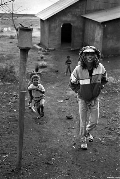 La case Patrick Persée, 90's © Bernard Lesaing