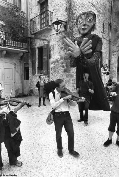 Les violonades, Sauves, 2014 © Bernard Lesaing