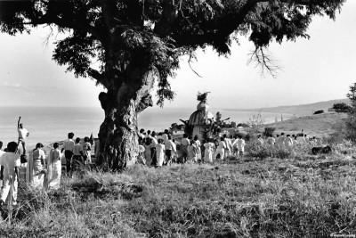 Procession à la mer, Saint Leu 1990 © Bernard Lesaing